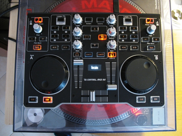 how to get hurcules rmx working with virtual dj 8