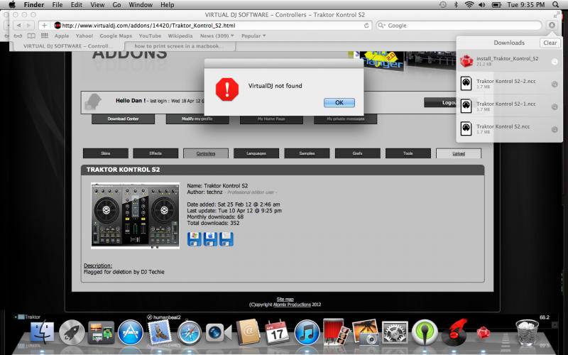 DJ Software - VirtualDJ - Traktor Kontrol S2 mapping?