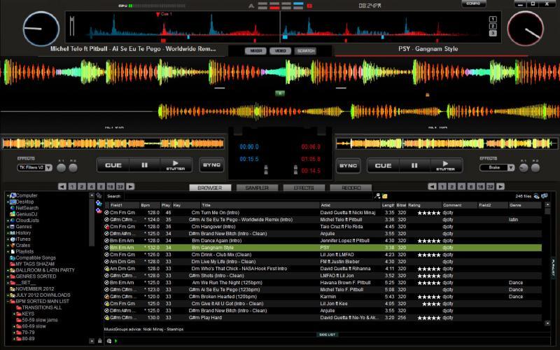 software sample dj