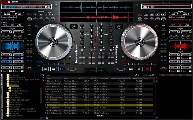 free virtual dj skins download for pro 7