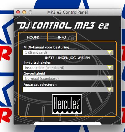 Virtual dj software hercules dj control mp3 e2 midi met - Table de mixage hercules dj control mp3 e2 ...