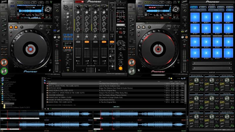 Free VirtualDJ 7 Pioneer Skin Download