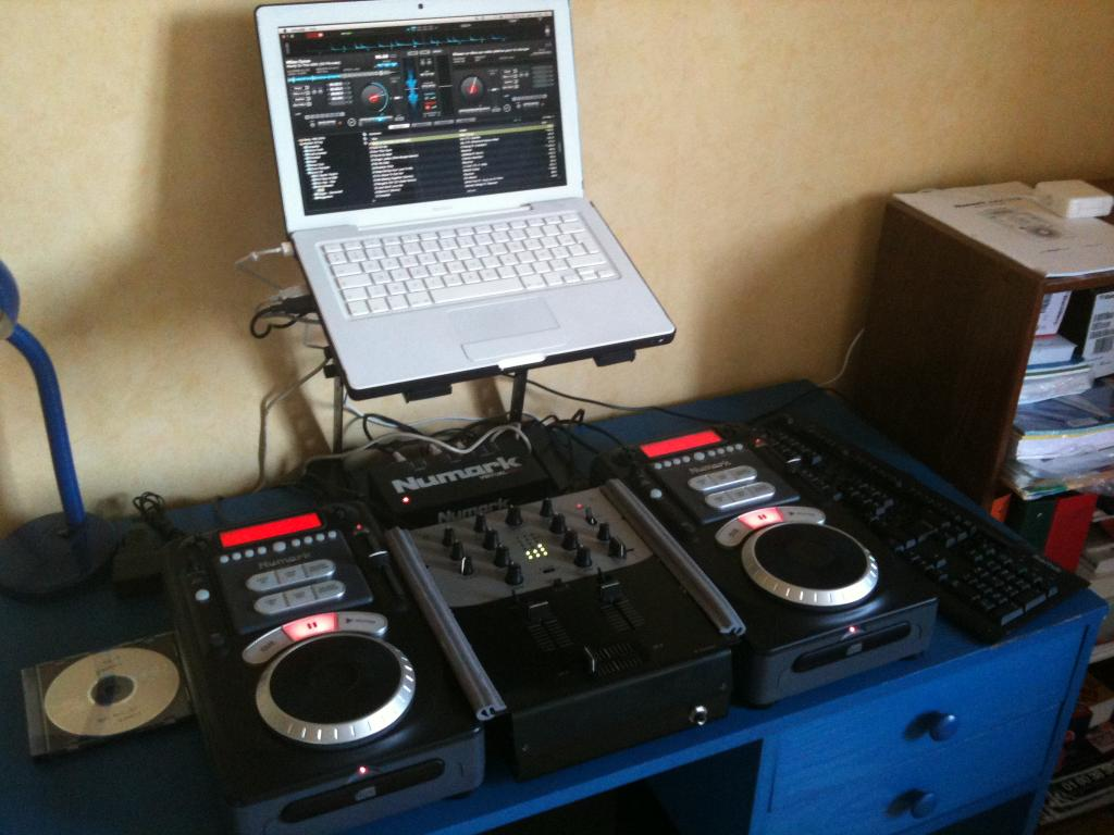 how to make a dj set at home