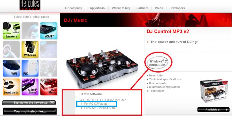 Virtual dj software iniciante hercules dj mp3 e2 - Table de mixage hercules dj control mp3 e2 ...