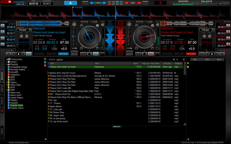 VIRTUAL DJ SOFTWARE - djdad's blogs