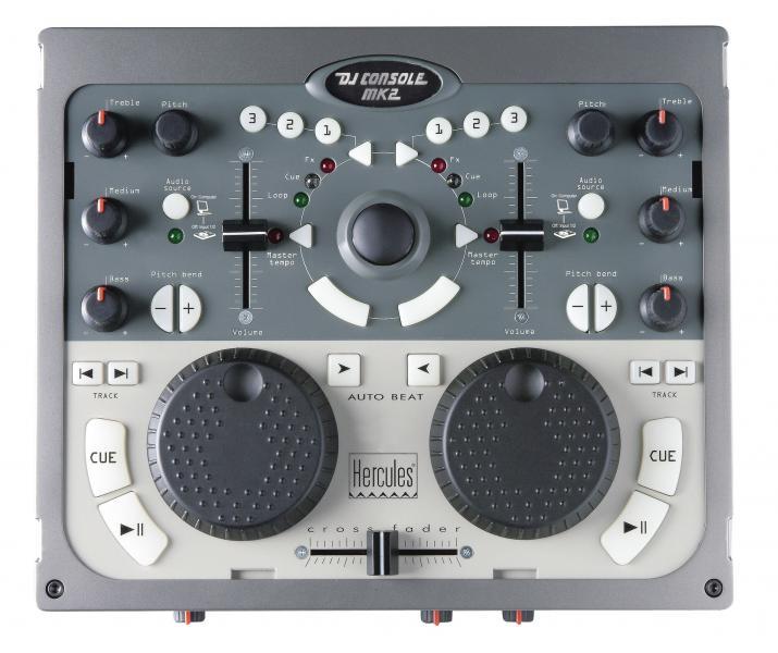 Virtual dj software qual controladora para come ar - Table de mixage hercules dj control mp3 e2 ...