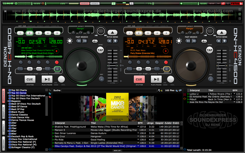 virtual dj pasledni versiya