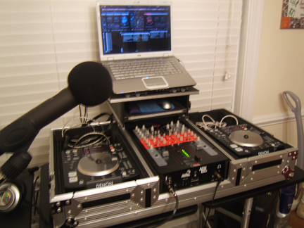 rekordbox how to set up both decks through mixer