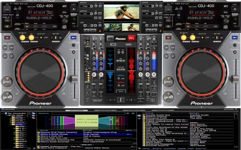 descargar skin para virtual dj home free