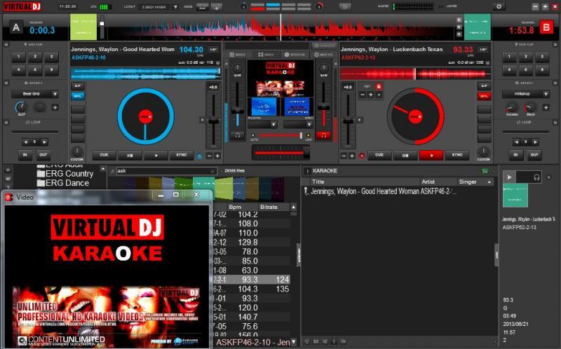 Virtual DJ 53 Karaoke
