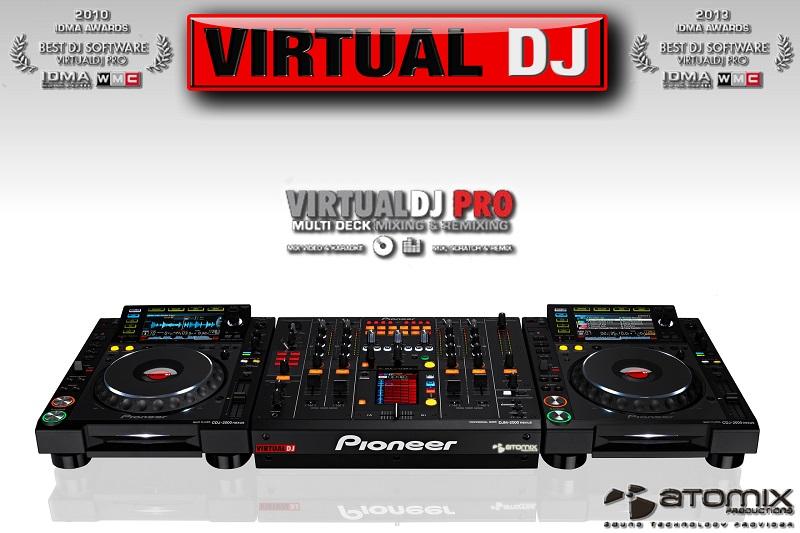 Virtual dj software fond d 39 cran virtualdj pro idma - Telecharger table de mixage dj gratuit pour pc ...