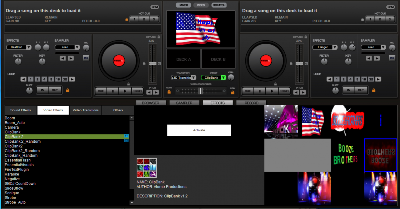 Clipbank Effects Virtual dj file free download direct