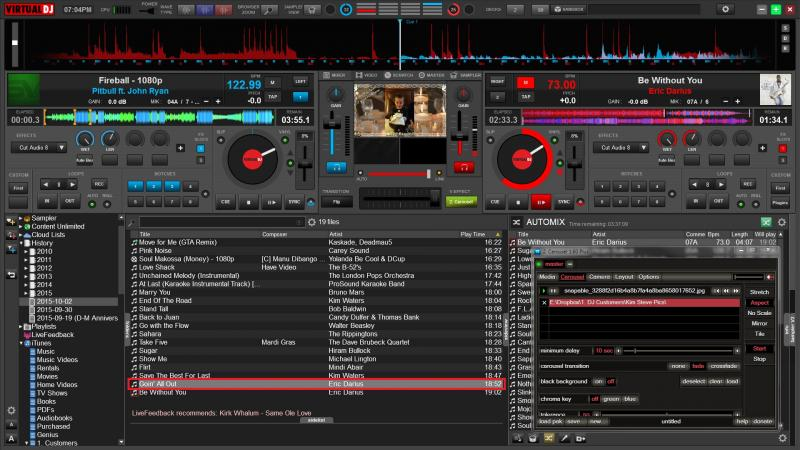 VIRTUAL DJ SOFTWARE - Win 7 - VDJ 8 Beta build 2454 - VDJ ...