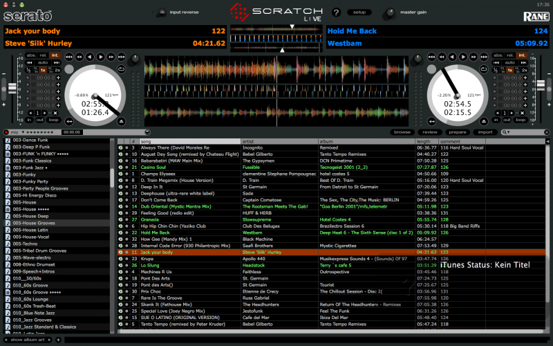 Serato skin for virtual dj Download from