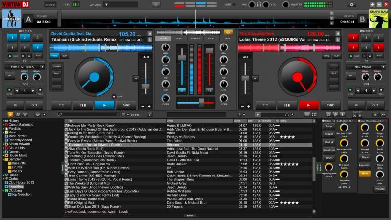 Virtual dj 8 скачать бесплатно