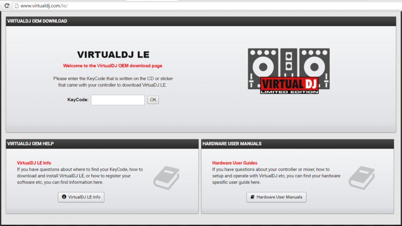 virtual dj license keycode