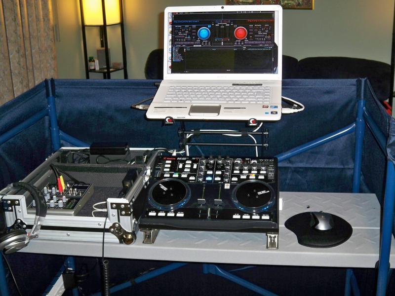 virtual dj software dj equipment laptop stands booths. Black Bedroom Furniture Sets. Home Design Ideas