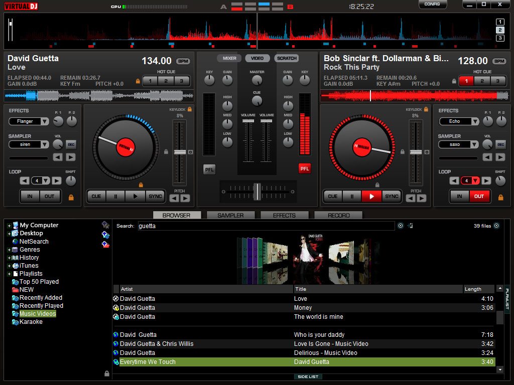 Download Atomix Virtual DJ Pro 7.4.1 Build 482 Full
