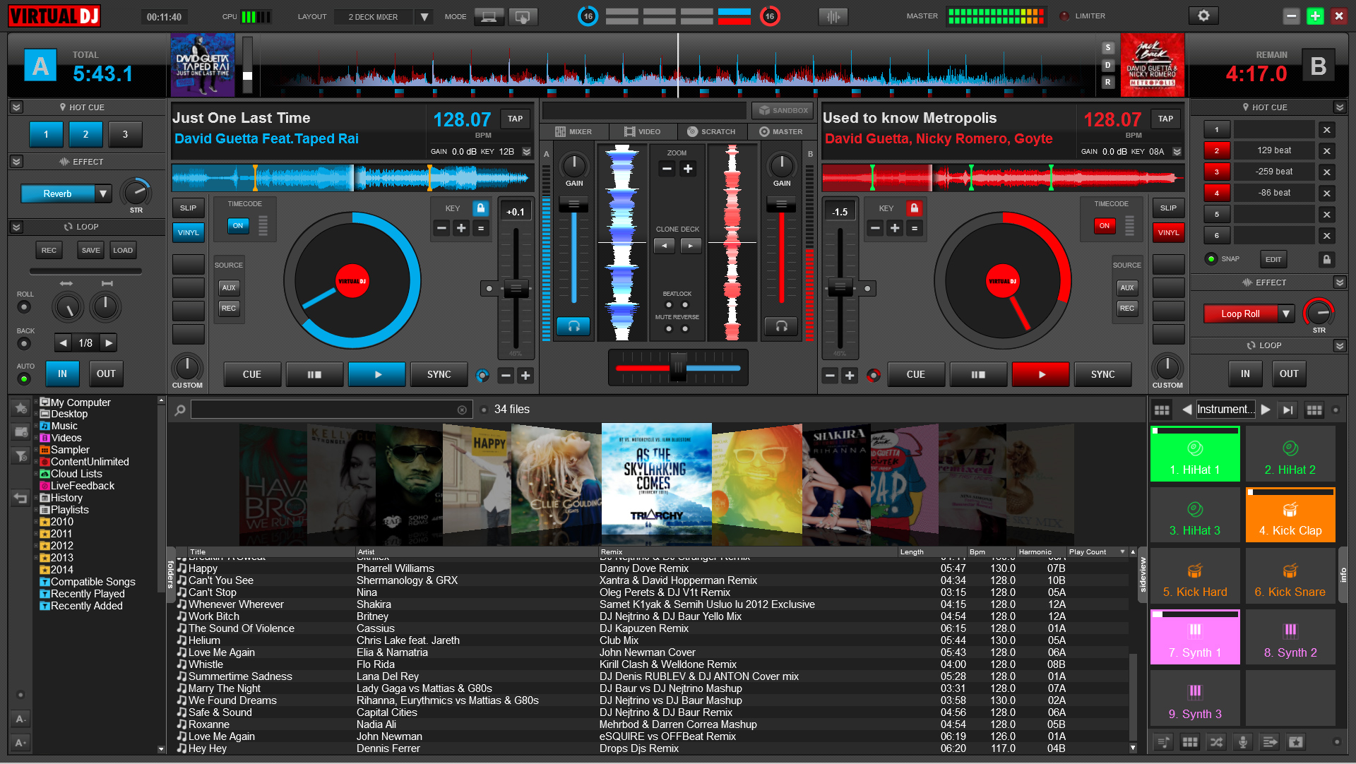 Virtual DJ Home for Mac 2018 B4514 full
