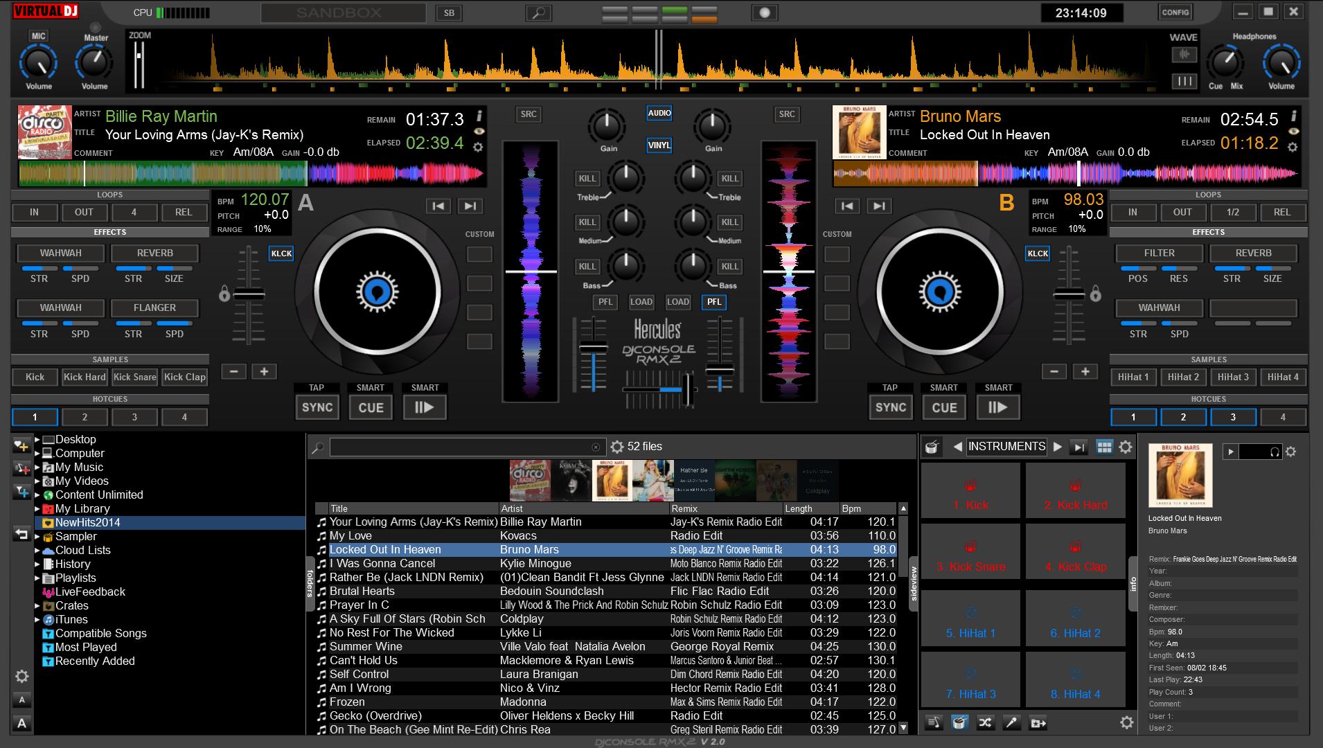 HERCULES DJ VIRTUAL RMX