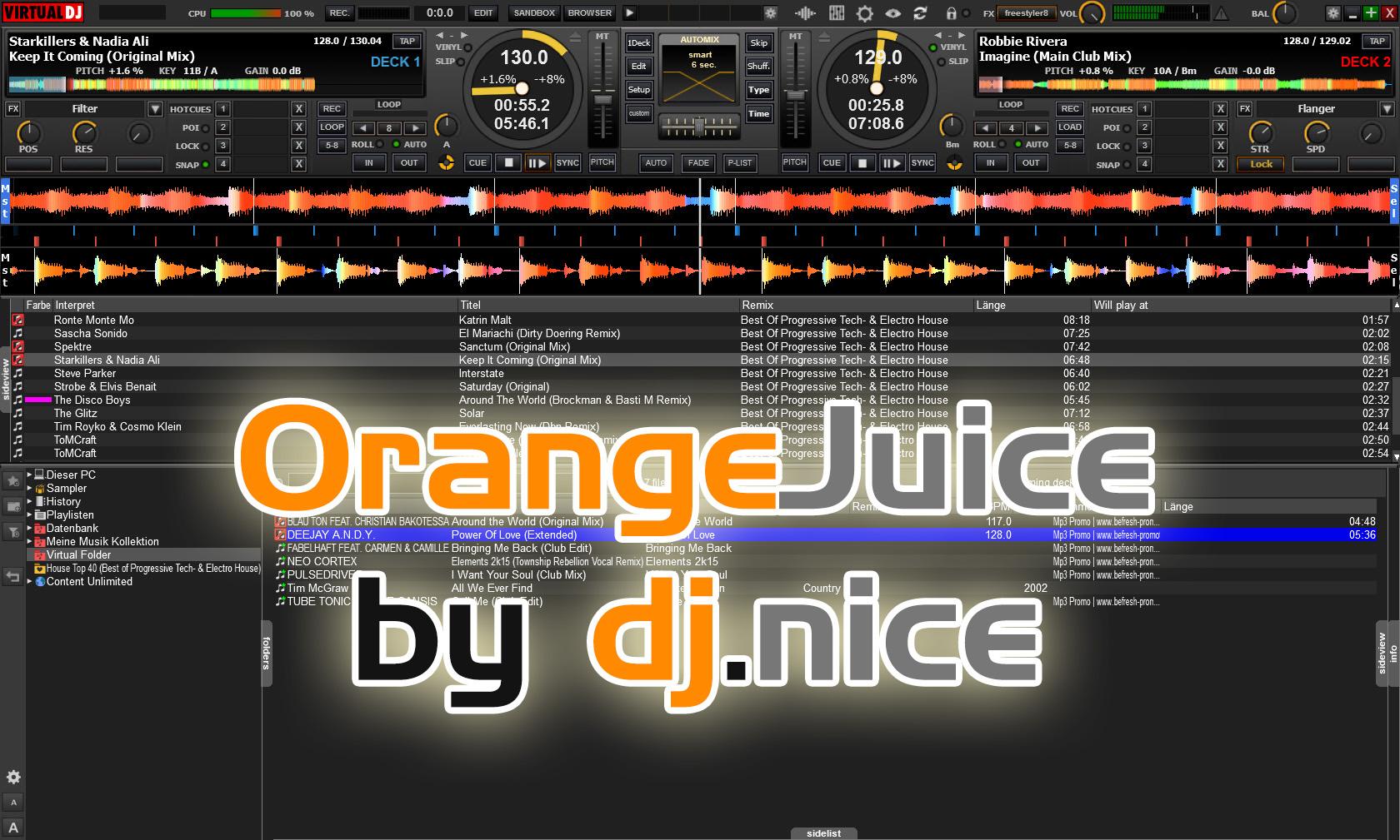 Download Virtual DJ PRO 8 PlugIns Free Download