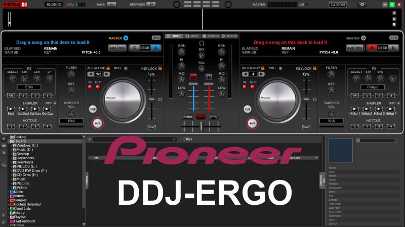 DDJ PIONEER TÉLÉCHARGER DJ POUR ERGO VIRTUAL