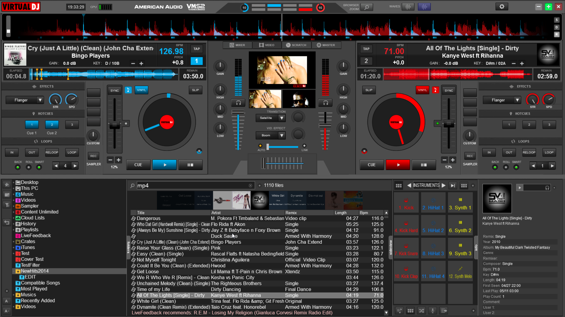 Virtual DJ 7.4 Skins Plugins Effects & Samples