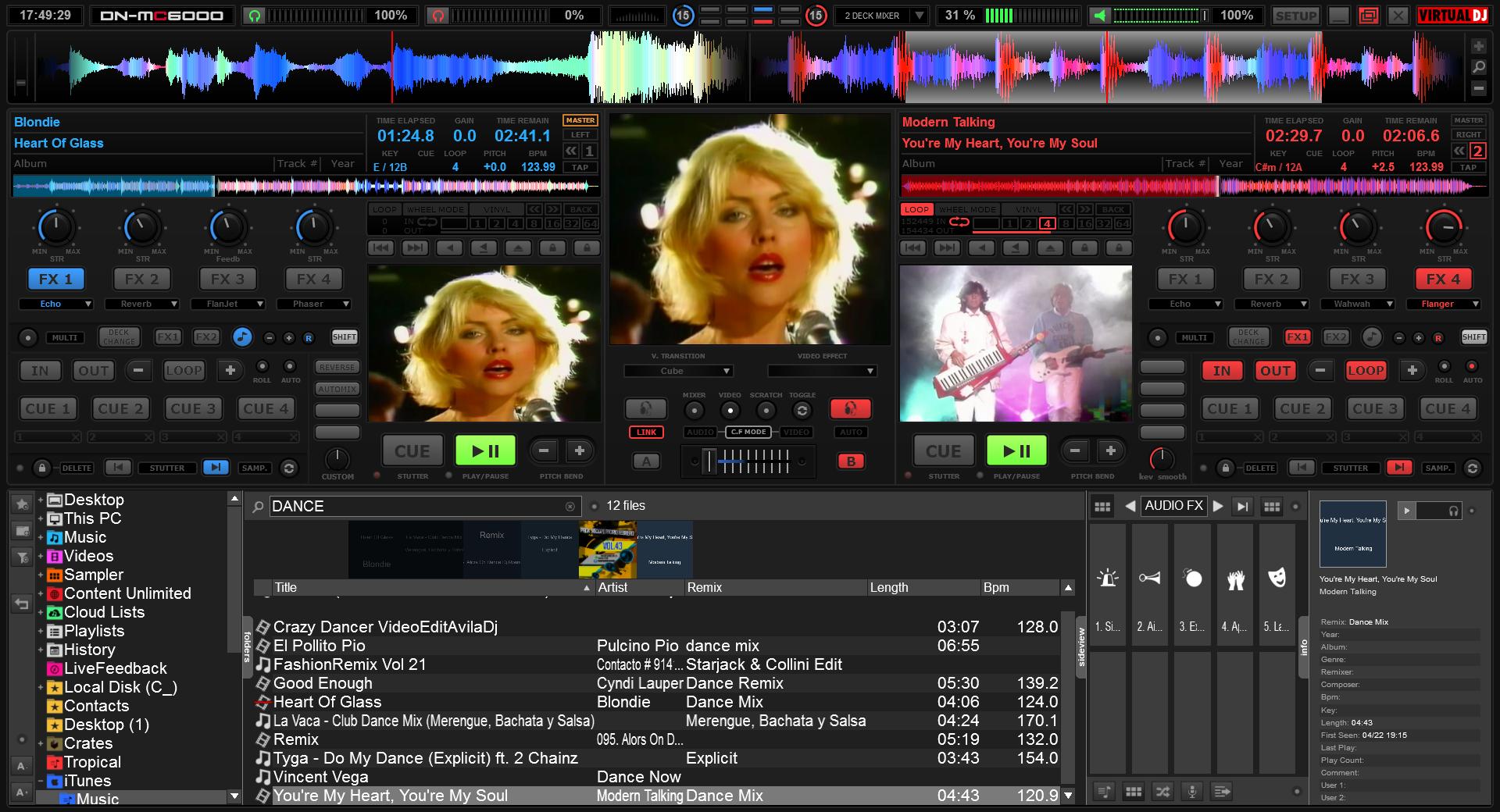DJ Software - VirtualDJ - Skins