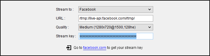 DJ Software - VirtualDJ - VDJPedia - Video Broadcast to Facebook
