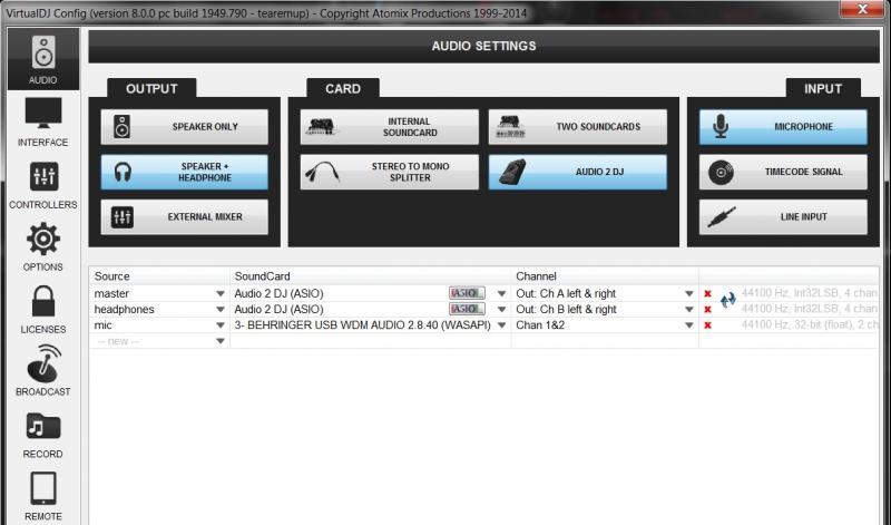 Virtual dj system