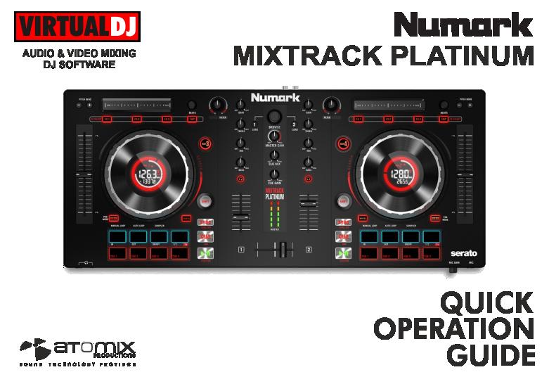 numark mixtrack pro manual pdf