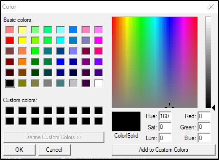 DJ Software - VirtualDJ - User Manual - Appendix - Default colors