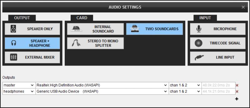 DJ Software - VirtualDJ - User Manual - Settings - Audio setup