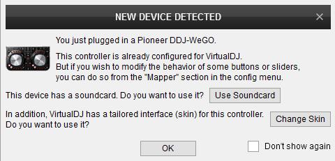 ddj wego virtual dj mapping