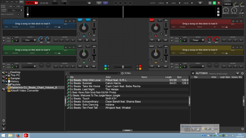 DJ Software - VirtualDJ - COMBAT - Version 8 Skin