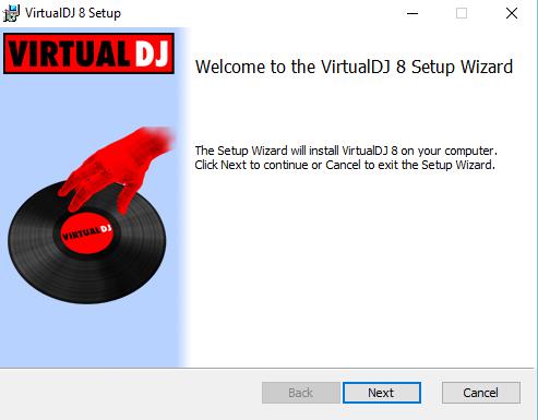 how to install virtual dj 8