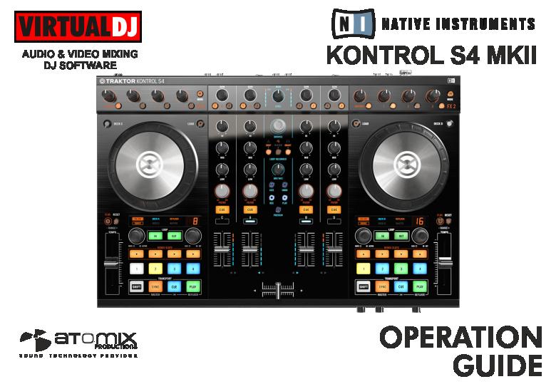 DJ Software - VirtualDJ - Hardware Manuals - Native Instruments
