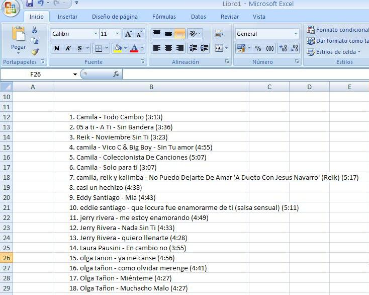 DJ Software - VirtualDJ - m3u to excel, anyone ?