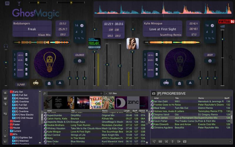 virtual dj skins