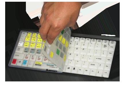 DJ Software - VirtualDJ - Virtual DJ keyboard skin for Mac