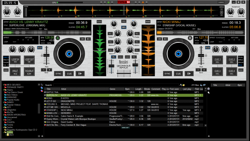 hercules dj software free download