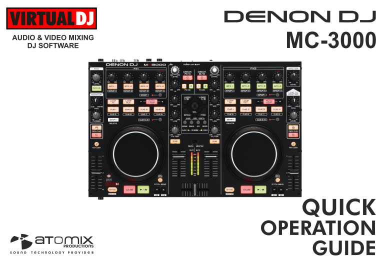 DENON DJ MC3000 DOWNLOAD DRIVER
