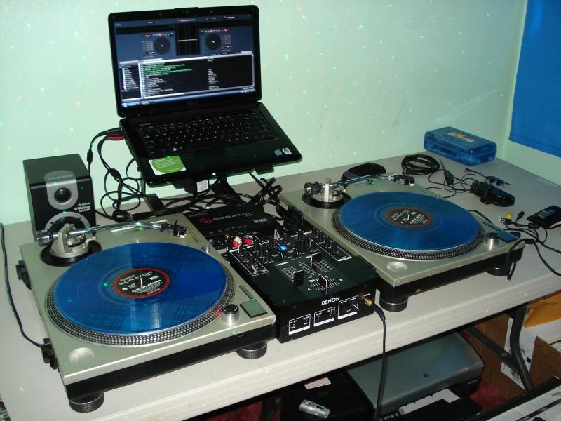 virtual dj with serato vinyl