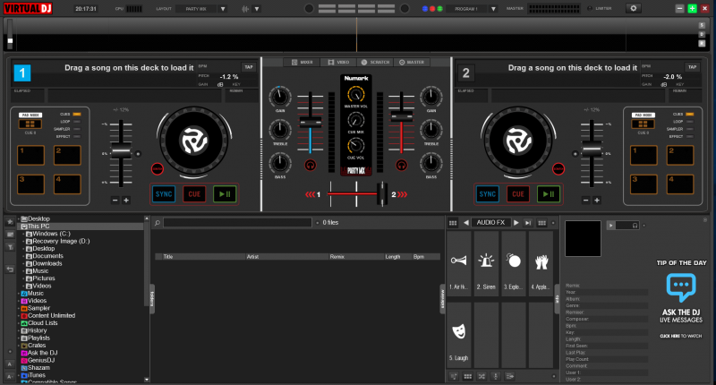 DJ Software - VirtualDJ - Hardware Manuals - Numark
