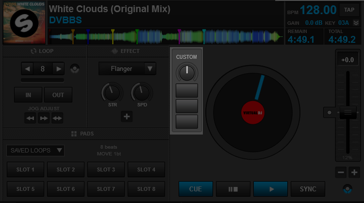 DJ Software - VirtualDJ - User Manual - Interface - Decks