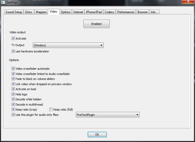 virtual dj hardware acceleration