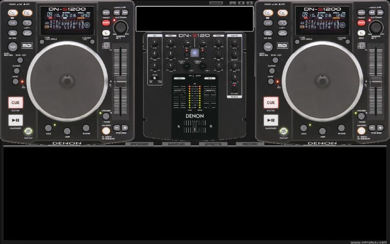 skins para virtual dj denon s1200