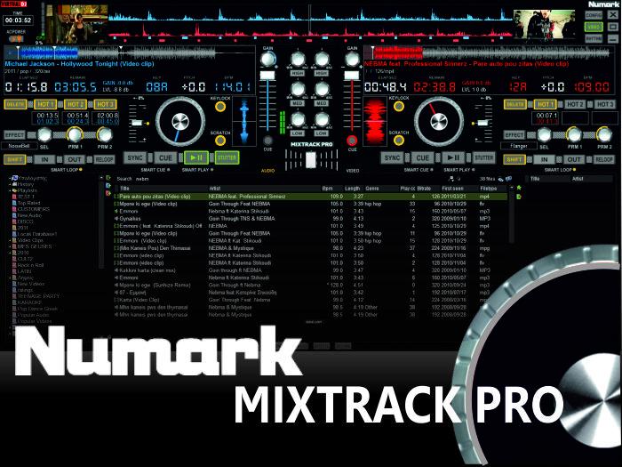 DJ Software - VirtualDJ - MIxTrack Pro 2 Decks