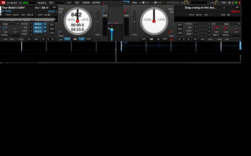 DJ Software - VirtualDJ - Hot Cue points counter