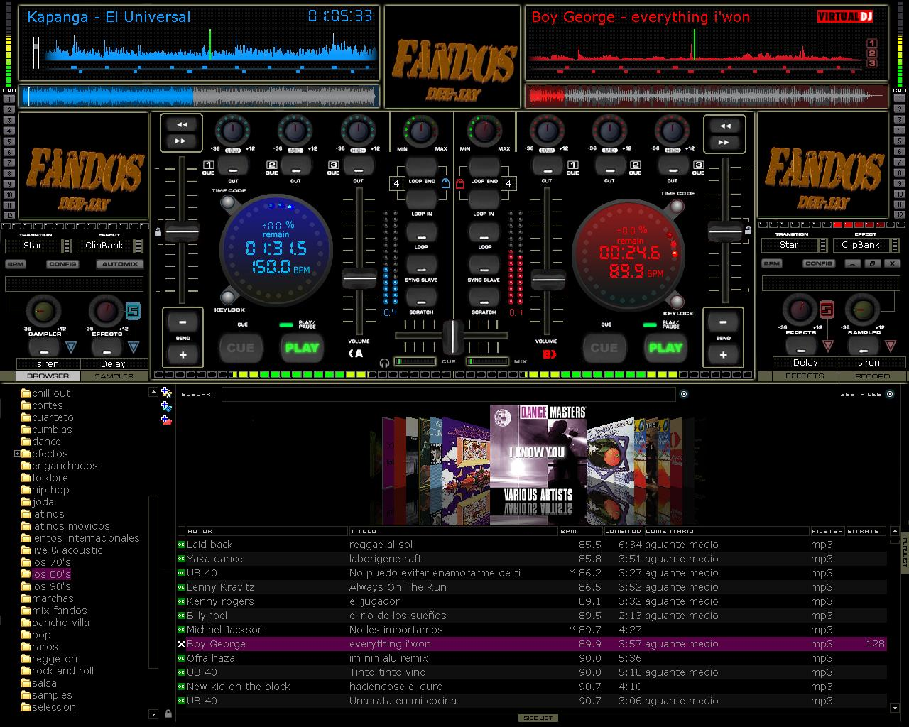 Efectos Para Virtual Dj Home